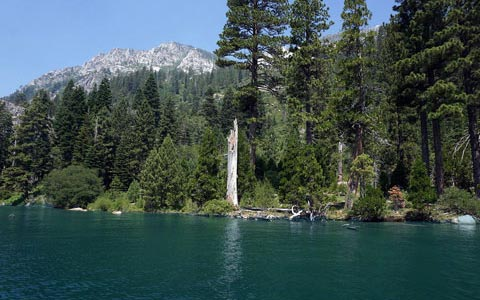 Lake Tahoe Emerald Bay Waterfall