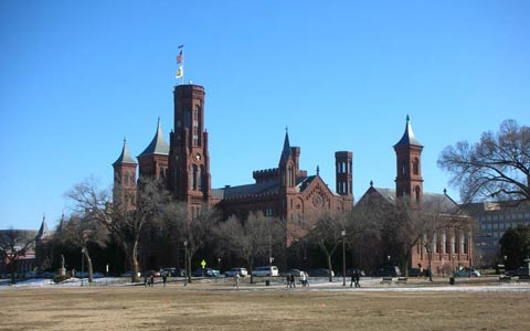 Washington Smithsonian Institution building